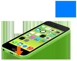 iphone-5c-oprava-nefukcny-reproduktor