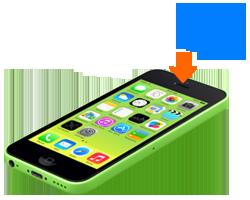 iphone-5c-oprava-nefunkcne-sluchatko