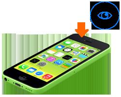 iphone-5c-oprava-vymena-fotoaparat-kamera-predna